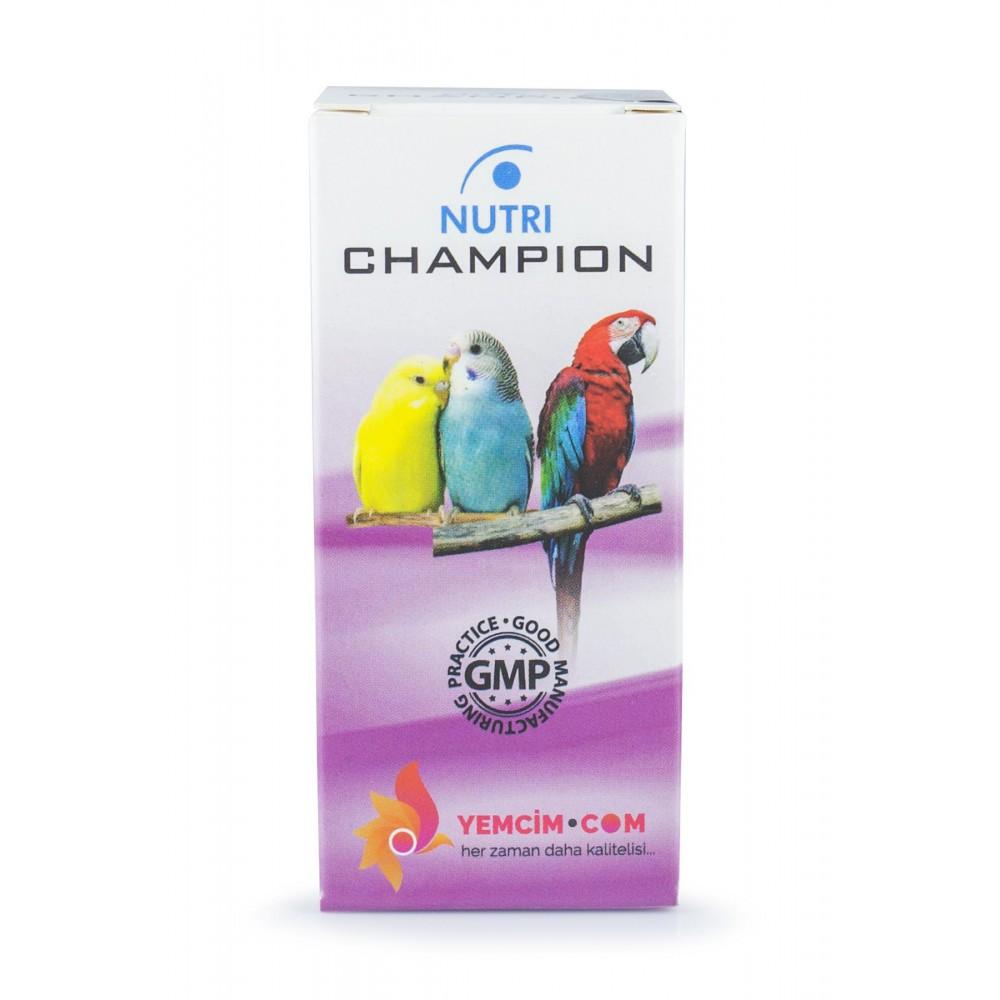 Nutri Champion Kafes Kuşları Stres Önleyici Damla 50 ml