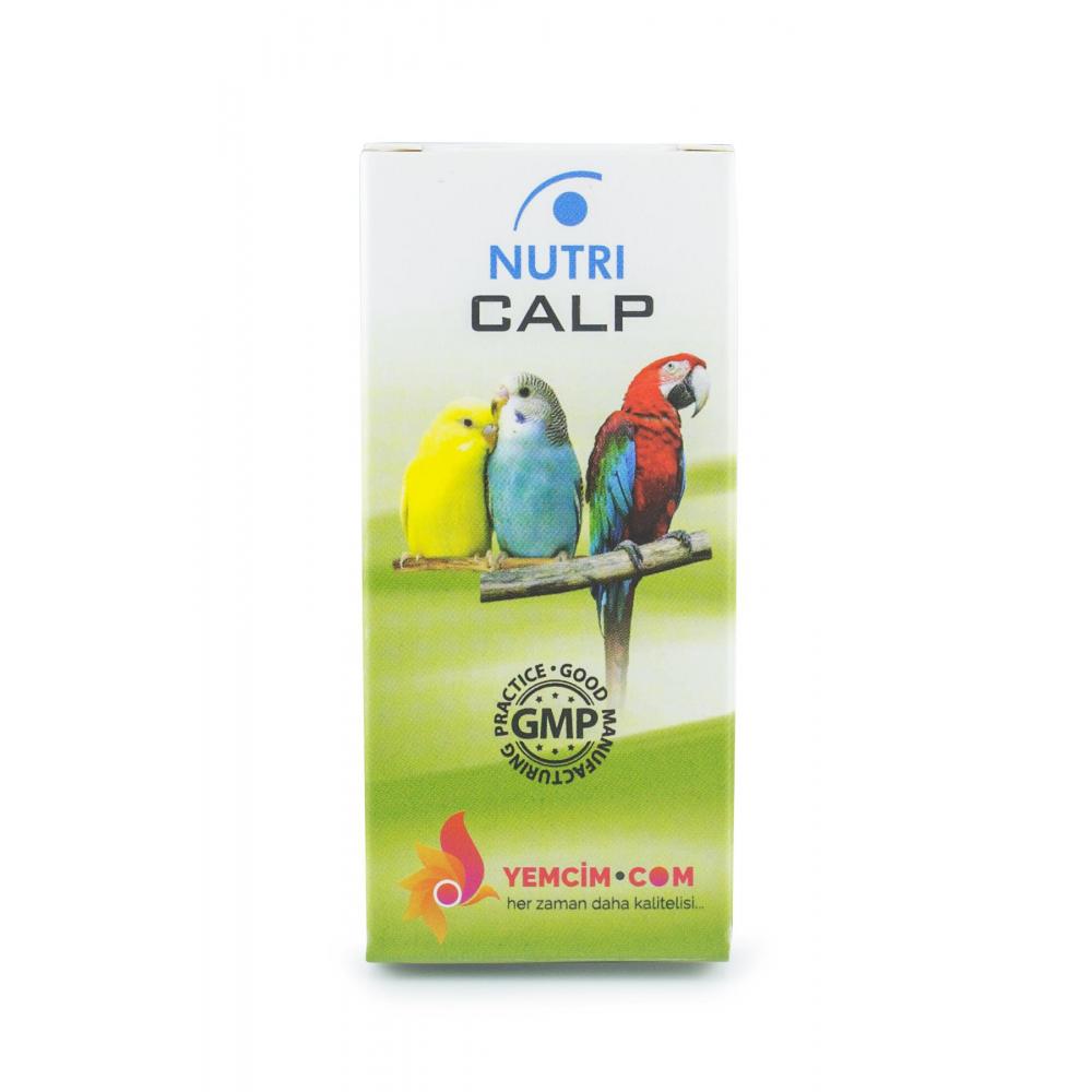 Nutri Calp Kemik Ve Gaga Destekleyici 50 ml