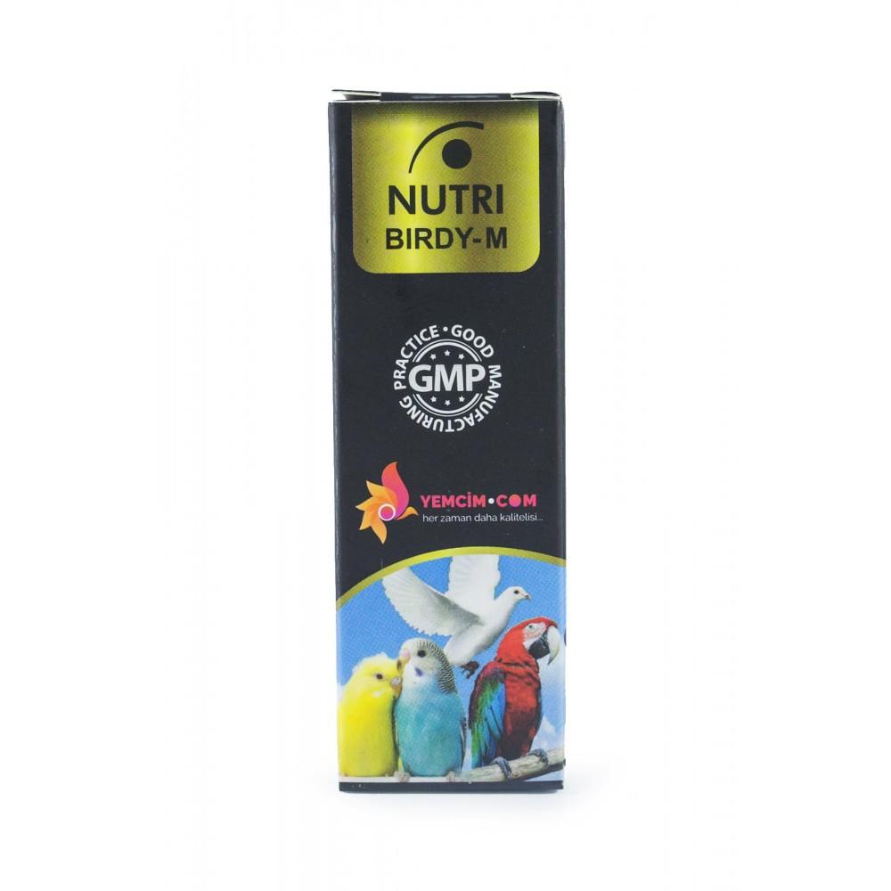 Nutri Birdy-M Kafes Kuşları İçin Sıvı Mineral 30 ml
